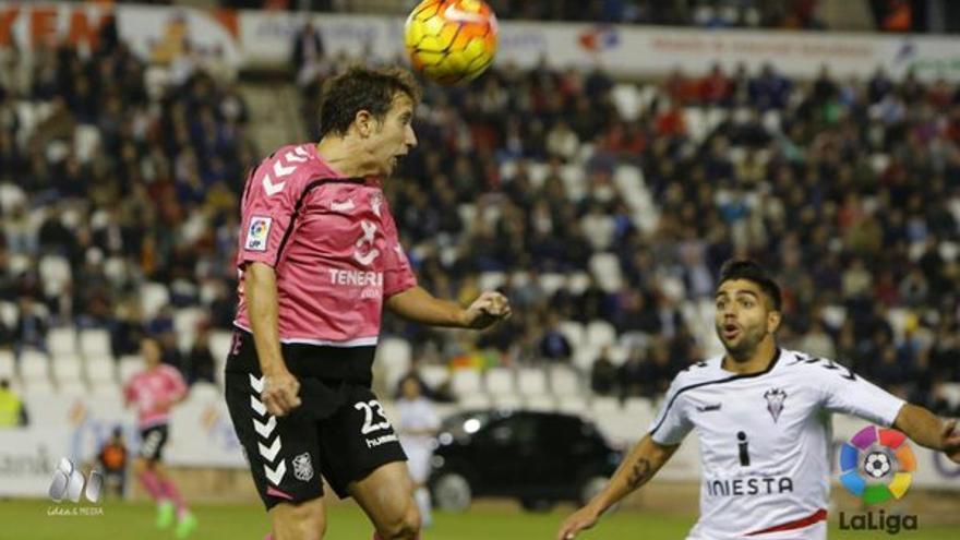 Imagen del encuentro entre el Tenerife y el Albacete. (LALIGA).