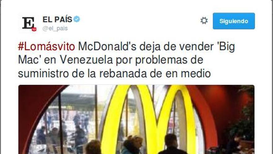 Big Mac El País