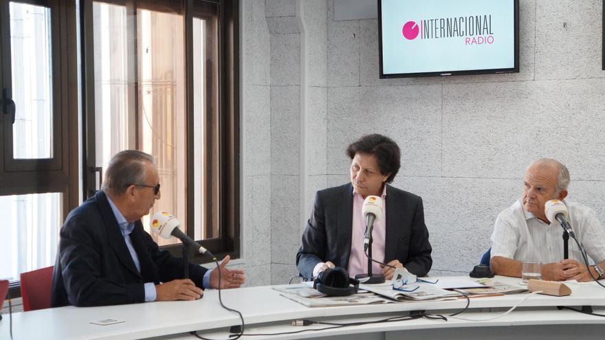 Carlos Fabra durante la entrevista concedida a Radio Internacional