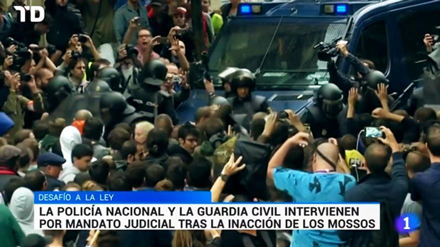 """El Consejo de Informativos recoge la """"vergüenza"""" de los trabajadores de TVE por la cobertura del 1-O"""