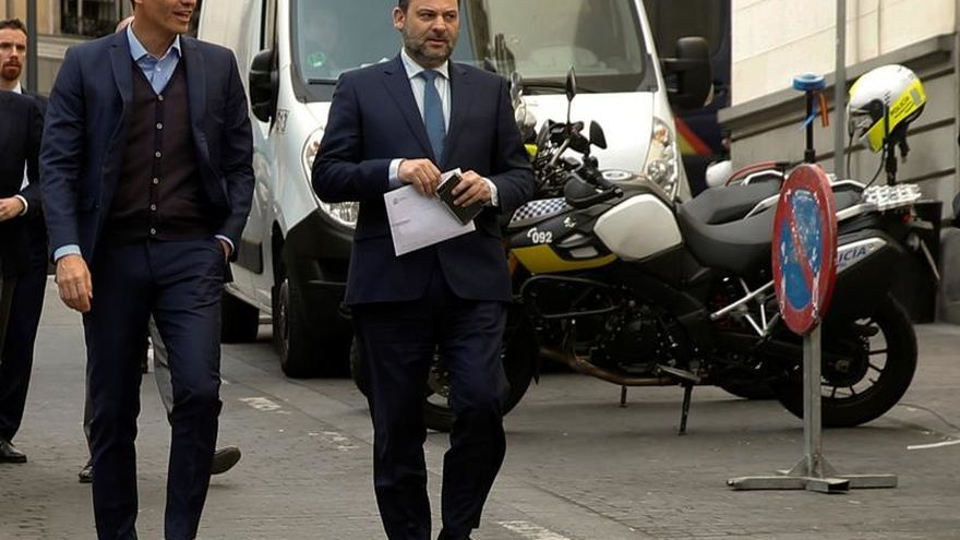 Pedro Sánchez, a su llegada a la reunión de la Ejecutiva del PSOE.