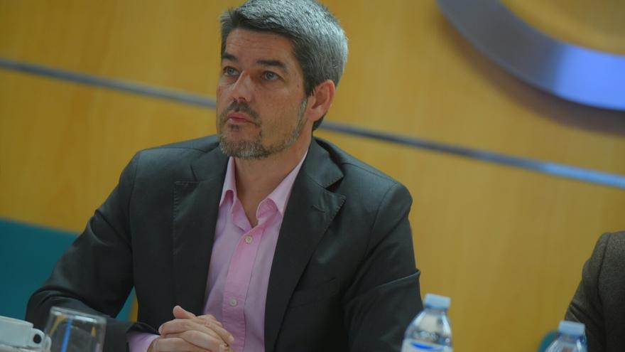 Alberto Bernabé, consejero de Turismo en el Cabildo de Tenerife