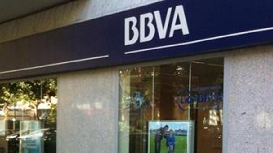 Fachada del Banco BBVA