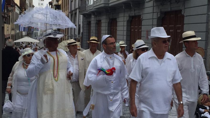 El espíritu antillano toma la Calle Real de Santa Cruz de La Palma.
