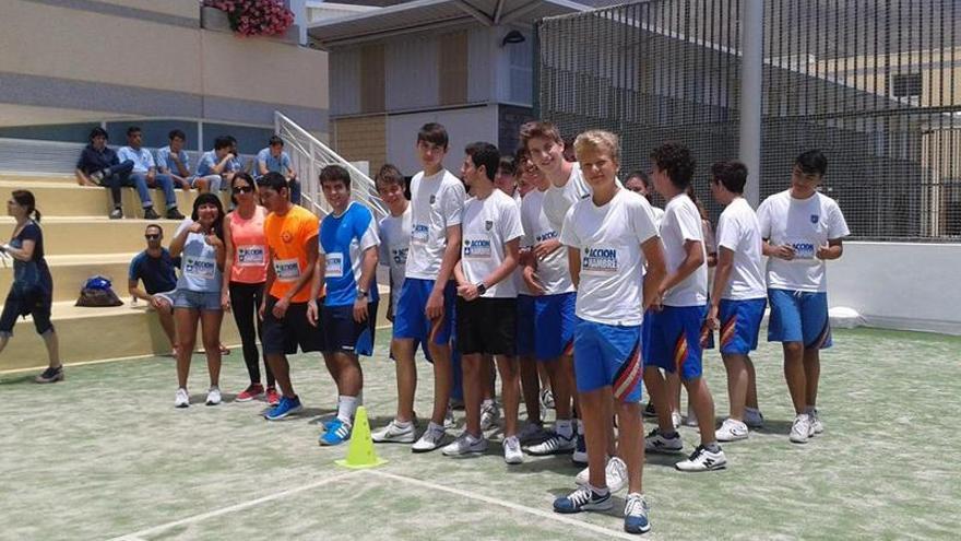 Participantes en la 'Carrera contra el Hambre' del pasado año