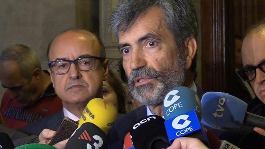 Lesmes: Puigdemont sigue la estrategia de los ataques furibundos para evitar su entrega