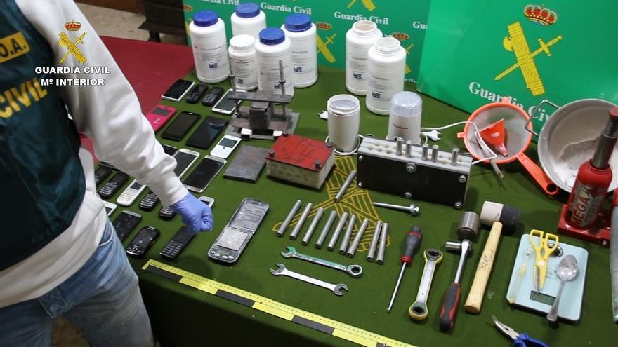 Desarticulada en Andalucía una red que 'exportaba' cocaína utilizando 'mulas'