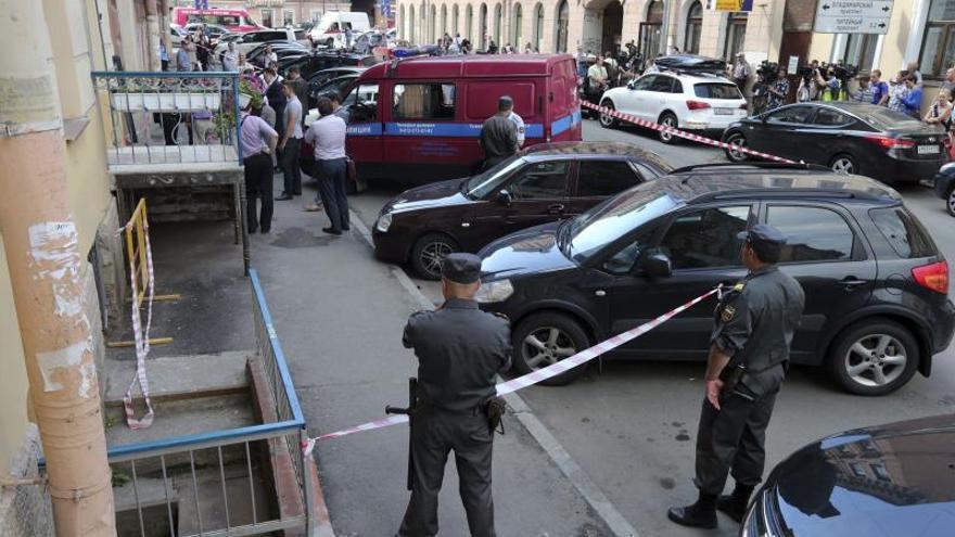 Al menos nueve heridos en dos explosiones en la capital de Daguestán