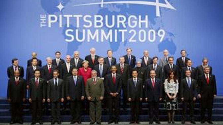 Foto de familia de los líderes del G-20. (REUTERS)