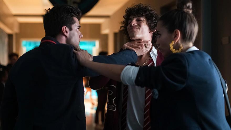Disputa en la 3ª temporada de 'Élite'