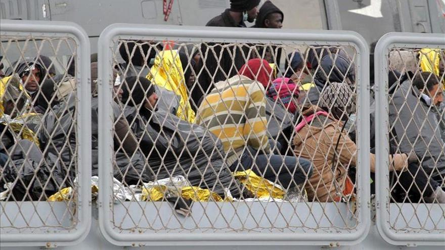 En enero y febrero llegó un 43 por ciento más de inmigrantes a Italia que hace un año