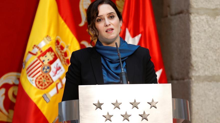 """Ayuso expresa """"decepción"""" y """"hartazgo"""" con la actitud de Sánchez ante la pandemia"""