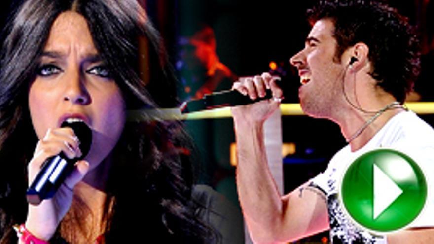 Vertele entrevistó en directo a Toni y Yadhira de 'La Voz'