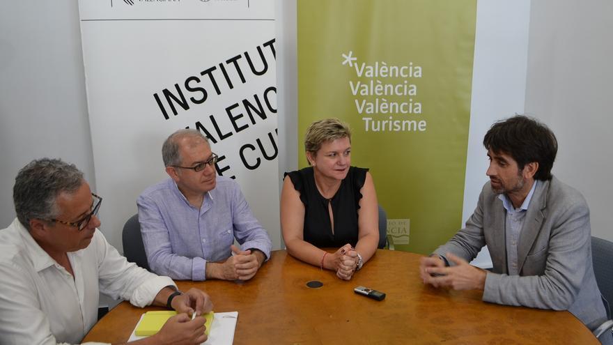 Evarist Caselles, Abel Guarinos, Pilar Moncho y José Luis Moreno