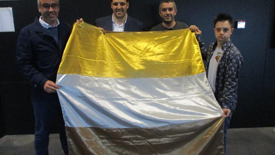 Acto de entrega de la Bandera de la Discapacidad.