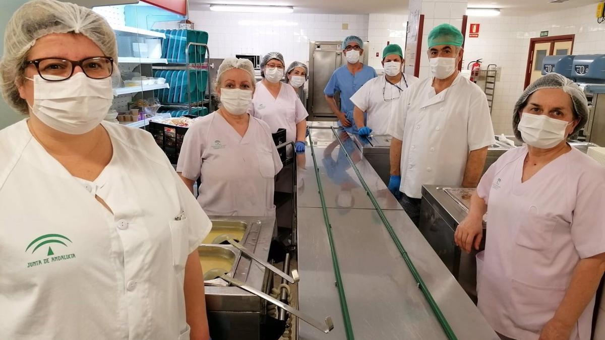 La cocina del Hospital Valle de los Pedroches.