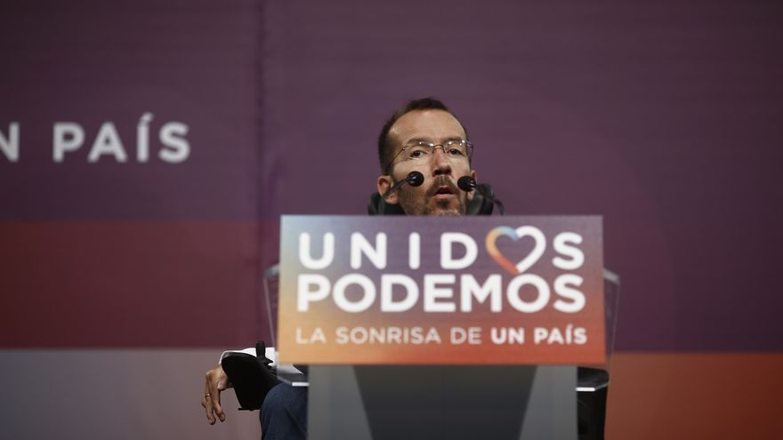 Echenique no descarta que en Podemos se asuman responsabilidades cuando hayan concluido su análisis