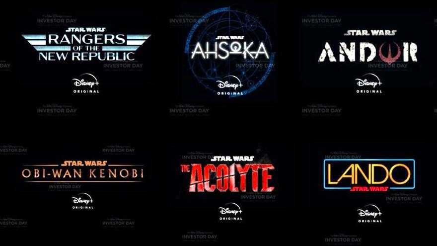 Las 10 series de Star Wars que Disney+ lanzará en los próximos años