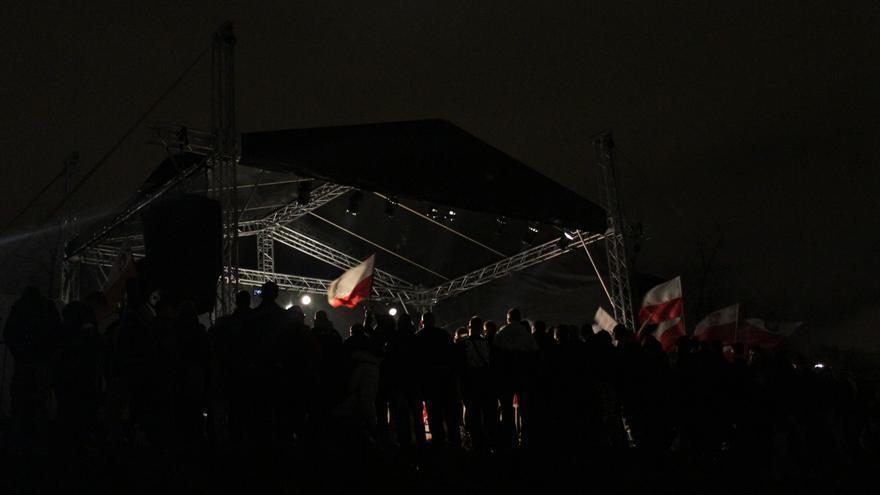 Concierto ultra en Polonia el pasado 11 de noviembre, Día de la Independencia de Polonia / Marta Alemany