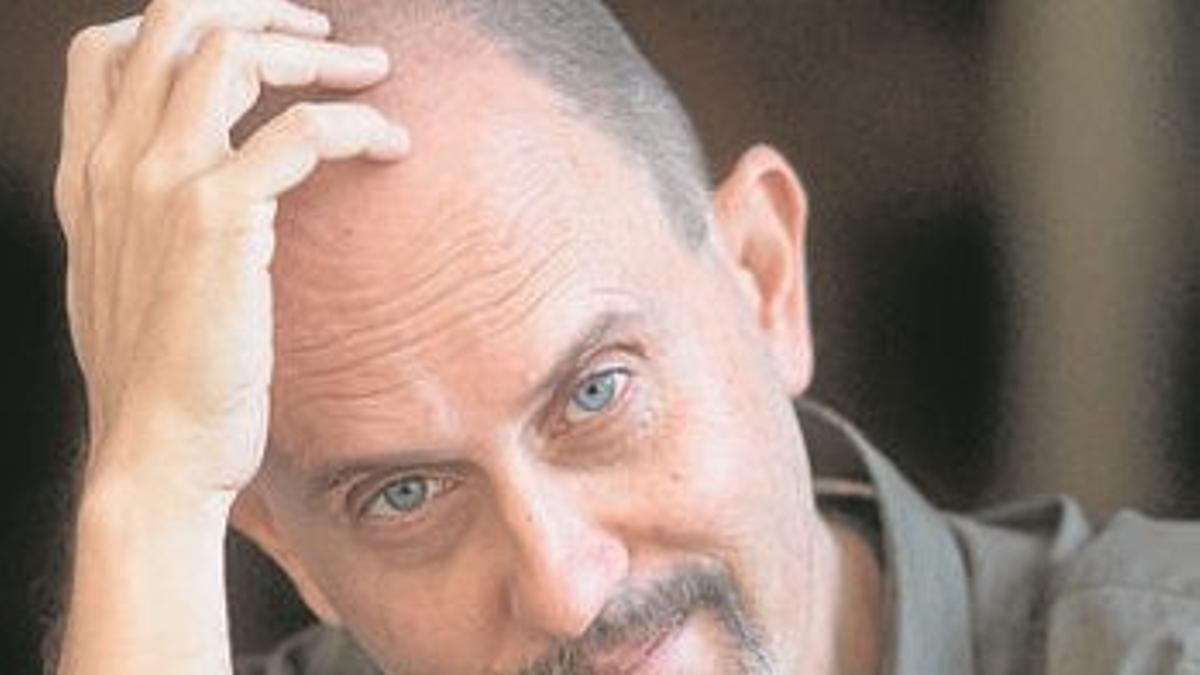 El autor Ginés Sánchez