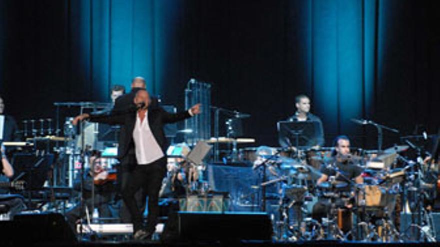 Sting, sobre el escenario de Siete Palmas.