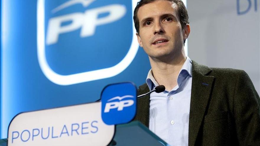 """Casado (PP) asegura que la polémica de las donaciones """"está zanjada"""""""
