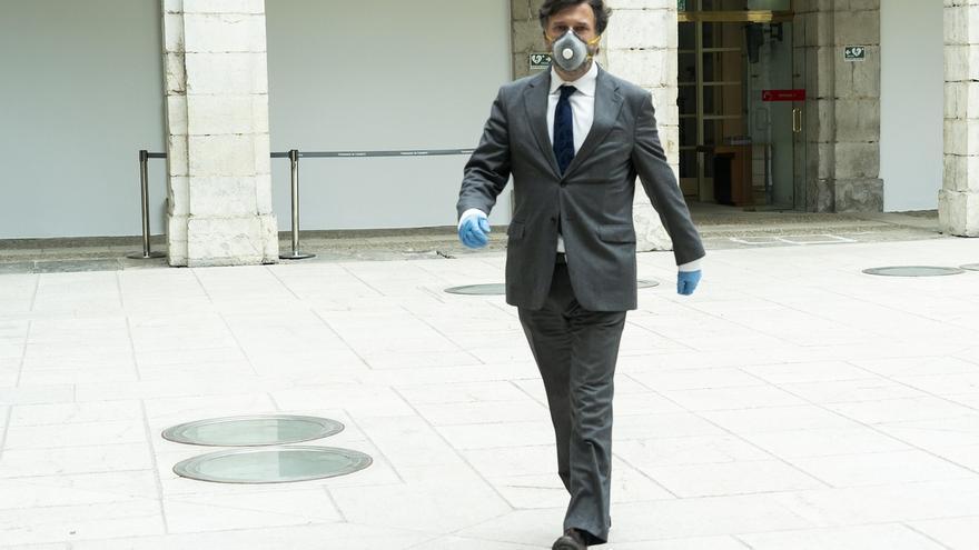"""Vox critica la """"improvisación"""" del Gobierno regional ante la crisis del coronavirus"""