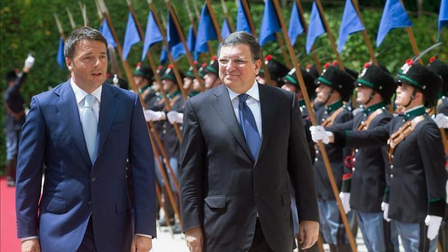 """Renzi propone devolver """"la esperanza y la pasión"""" a los europeos"""
