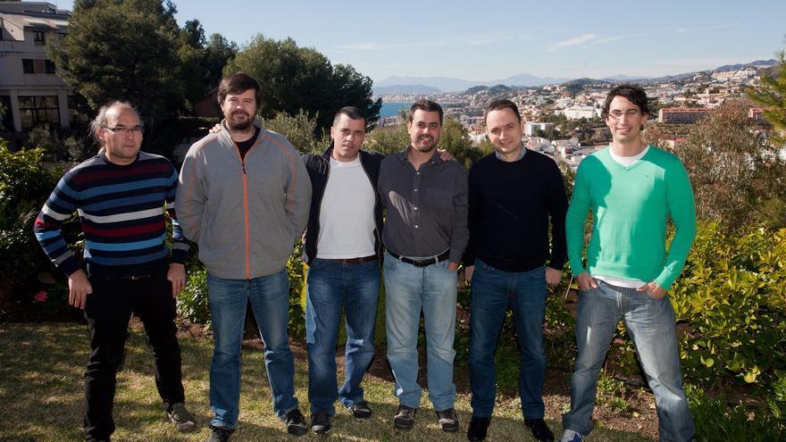 El equipo de VirusTotal en Málaga