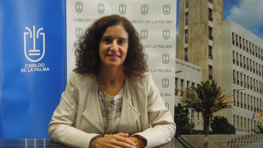 Jovita Monterrey es consejera de Asuntos Sociales del Cabildo.