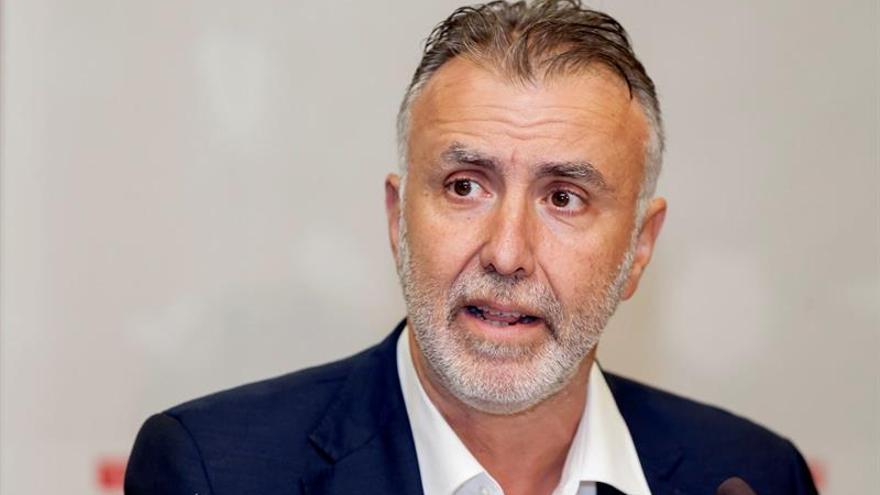 El secretario general del PSOE de Canarias, Ángel Víctor Torres..EFE/Ramón de la Rocha