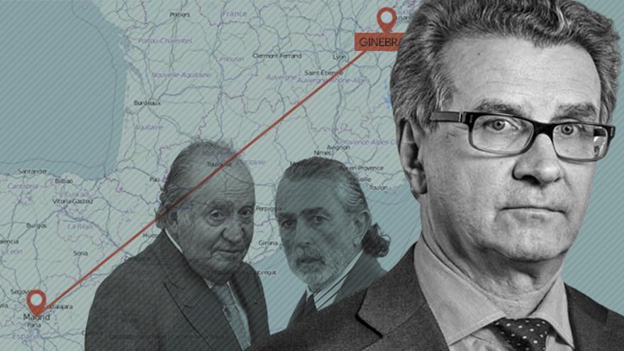 Arturo Fasana fue investigado por mover el dinero de Gürtel y ahora lo es por gestionar el del rey emérito