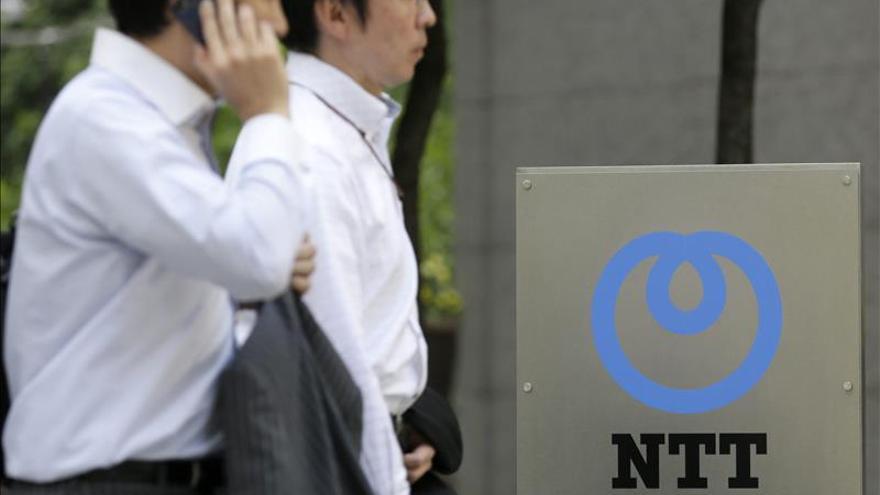NTT ganó 2.053 millones de euros en abril-septiembre, un 10 por ciento menos