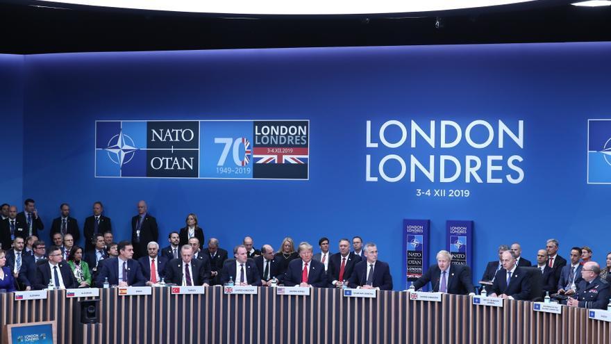 Cumbre de la OTAN en Londres, 4 de diciembre de 2019.