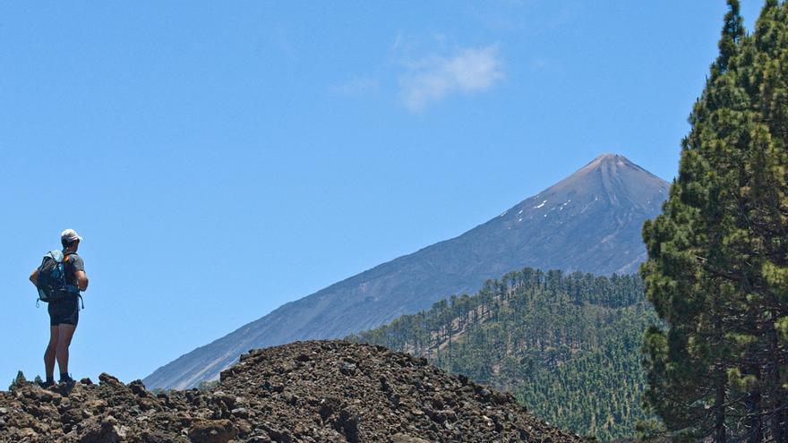 Imagen de archivo del edificio volcánico Teide