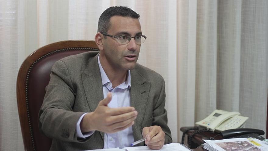 Oswaldo Betancort, alcalde de Teguise