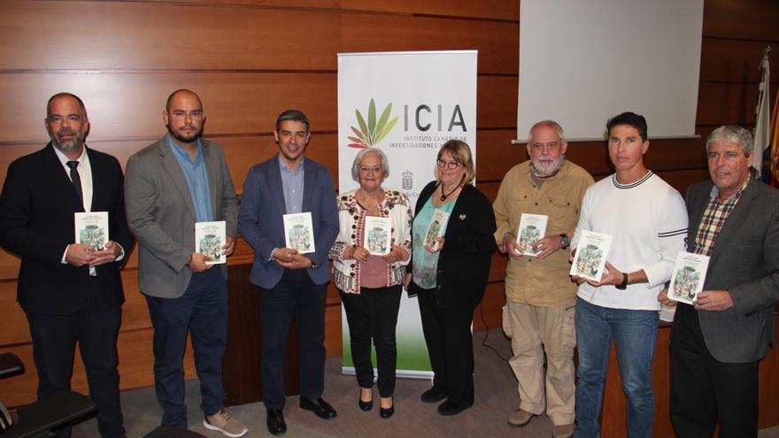 Acto de presentación del libro, este martes en el ICIA, en Tenerife