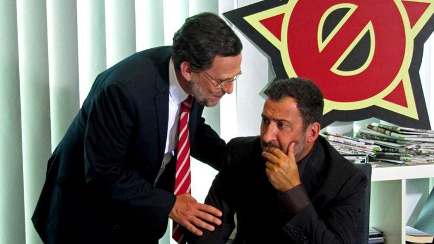 Toni Soler y el imitador de Rajoy en Polònia (TV3)
