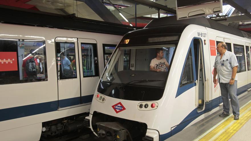 Los sindicatos cifran en un 98 por ciento el seguimiento del paro en Metro de Madrid