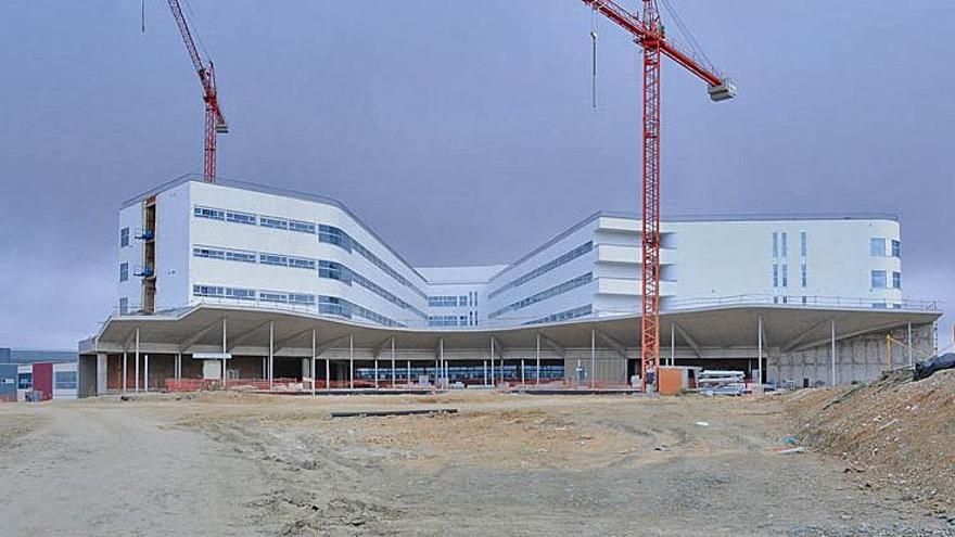 Obras nuevo hospital Caceres