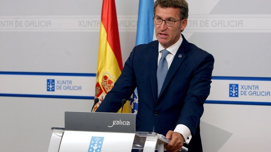"""Feijóo lamenta el """"secuestro político"""" de 47 millones de españoles y buscará preservar a Galicia del """"bloqueo"""""""