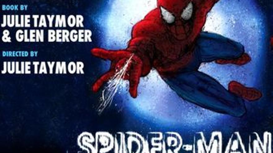 Cartel promocional del musica de Spiderman