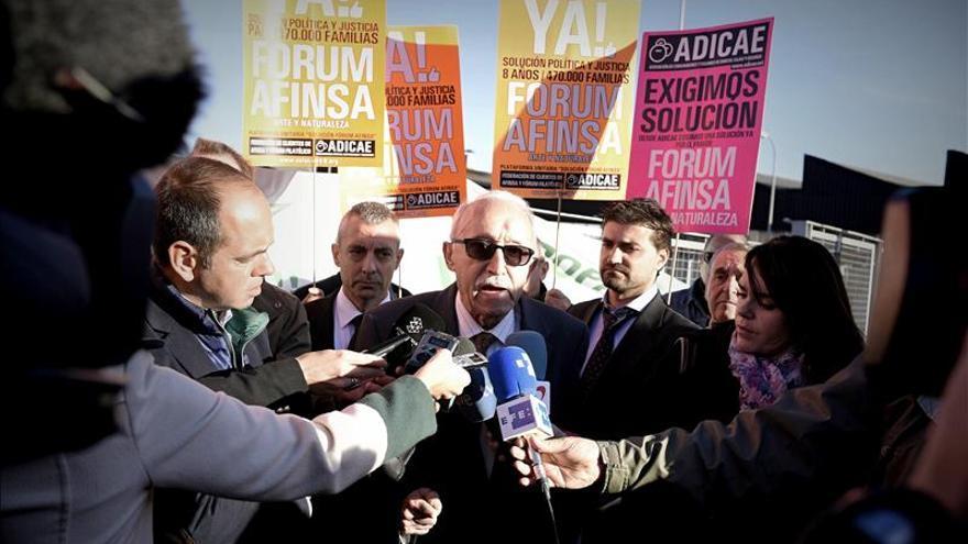 Afectados de Afinsa se manifiestan una semana después del inicio del juicio