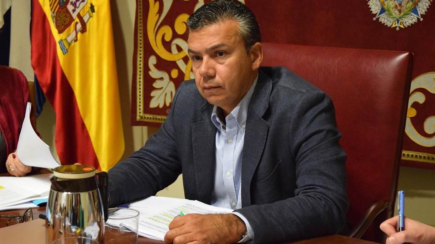 El concejal de Servicios Públicos, Dámaso Arteaga