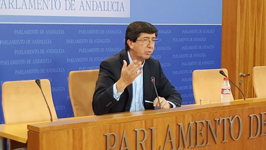 """Marín saluda la propuesta de Moreno y que el PP-A """"haya vuelto a la senda del diálogo con C's"""""""