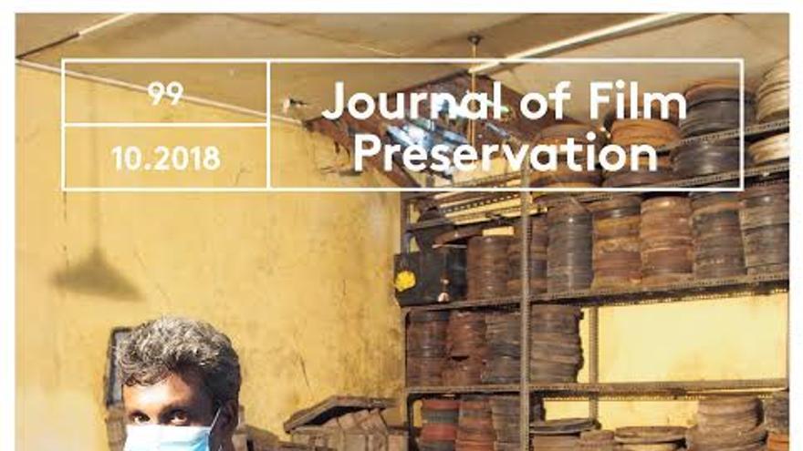 Portada del Journal of Film Preservation (cedida por FIAF)