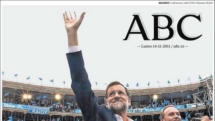 De las portadas del día (14/11/2011) #6