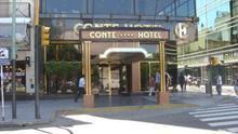Hotel donde se hospedó el CD Tenerife en Buenos Aires y donde se produjo el robo.