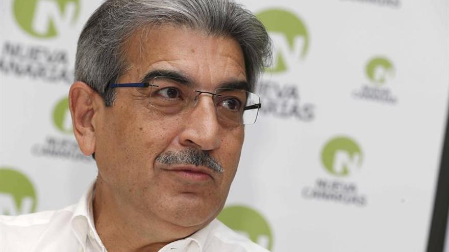 El presidente de Nueva Canarias (NC), Román Rodríguez.