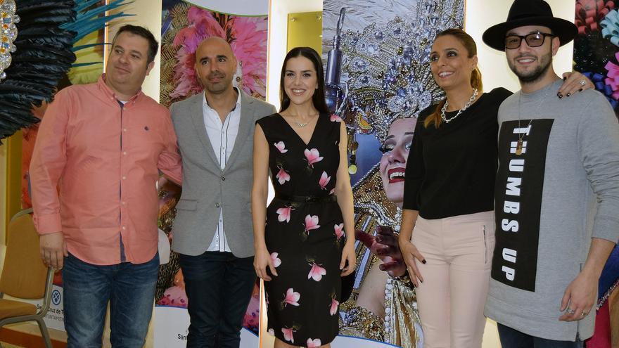 Acto de presentación de la Gala, este martes en Santa Cruz de Tenerife